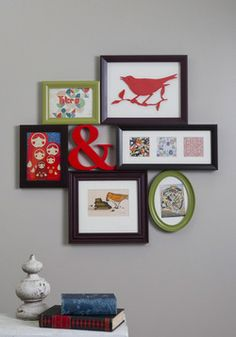 Place to Collage Your Own Picture Frame, #ModCloth