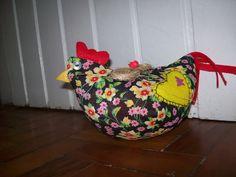 Artesanato Fofo: Passo a Passo móbile de galinhas de tecido