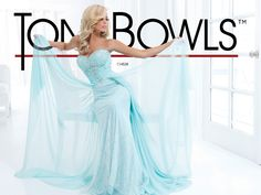 This fabulous ice blue dress from Tony Bowls has been beautifully designed with a lace underskirt, chiffon overlay and beaded detail across the bodice. Product code 114538.  View more prom dresses from our Tony Bowls collection at: https://shop.baroqueboutique.co.uk/             Photographs courtesy of: http://tonybowls.com/