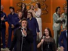 "Johnny Cash ""Children, Go Where I Send Thee"" 1977 (+playlist) Southern Gospel Music, Country Music, Johnny Cash Children, Folk Music, Art Music, June Carter Cash, Johnny And June, Christmas Music, Merry Christmas"