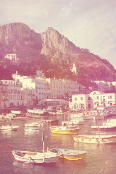 Capri, one of my favorite places on earth. Photo via Barbara Jane Vintage, Etsy Oh The Places You'll Go, Places To Travel, Places To Visit, Travel Stuff, Travel Destinations, Capri Italia, Fine Art Photo, To Infinity And Beyond, Adventure Is Out There