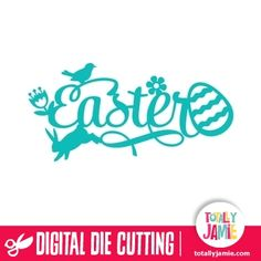 Easter Fancy Whimsical Title - Get easter fancy whimsical title and other digital die cutting shapes from TotallyJamie online shop. Each of the pieces you see will be cut individually and then assembled by you, so you can truly make it your own! Digital die cutting files are designed specifically with cutting machines in mind. Use them with programs such as your Silhouette, Cricut (SCAL/MTC), Pazzles, Klick-n-Kut, Wishblade or any cutting machine that can use the following file formats: SVG…