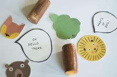 How to make lovely Animal Puppets with Corks