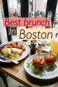 Best Brunch in Boston