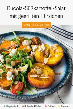 Vegetables, Food, Lettuce Recipes, Grilled Peaches, Grill Party, Side Plates, Veggies, Vegetable Recipes, Meals
