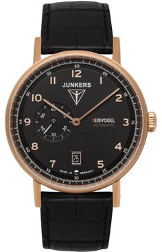 Junkers Watch Eisvogel F13 #2015-2016-sale #bezel-fixed #black-friday-special #bracelet-strap-alligator #brand-junkers #case-depth-11mm #case-material-rose-gold-pvd #case-width-40mm #classic #date-yes #delivery-timescale-1-2-weeks #dial-colour-black #gender-mens #movement-automatic #official-stockist-for-junkers-watches #packaging-junkers-watch-packaging #sale-item-yes #style-dress #subcat-eisvogel-f13 #supplier-model-no-6706-5 #vip-exclusive #warranty-junkers-official-2-year-guarantee…