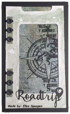 Art Journal Pages, Junk Journal, Art Journaling, Planner Pages, Planner Ideas, Elizabeth Craft Designs, Paper Crafts, Paper Paper, Handmade Journals