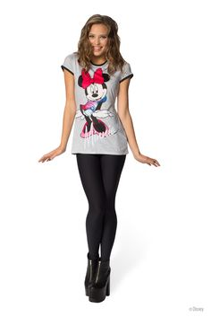 Minnie The Sharkie Slinky Tee - LIMITED (WW $70AUD / US $65USD) by Black Milk Clothing