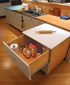 expanding baking kitchen area I NEED THIS!!! - Google Search