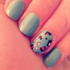 nail design #colourfulnails