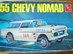 AMT 55 Chevy Nomad box art