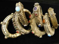 """""""Color and texture in Afghani jewelry inspire #Jessa's accessories"""" -Jenn Rogien"""
