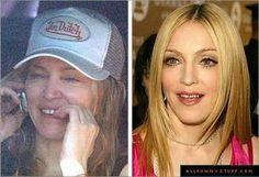 Et si on rigolé un peu ? #2 Les stars sans makeup ! | UnetouchedeRoux