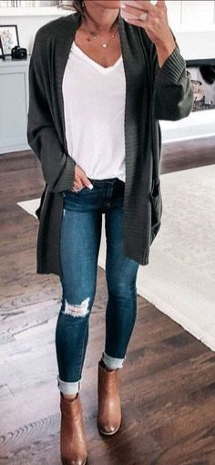 50 Fall Outfit Ideas That Can Inspire You - MyFavOu .- 50 Herbst-Outfit-Ideen, die Sie inspirieren können – MyFavOutfits – Damen mode 50 Fall Outfit Ideas That Can Inspire You – MyFavOutfits – Ladies Fashion … – inspire # - Winter Outfits For Teen Girls, Winter Outfits 2019, Cute Winter Outfits, Casual Fall Outfits, Trendy Outfits, Outfit Winter, Winter Boots, Winter Clothes, Girly Outfits