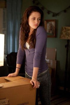 "Bella packing up her room at Charlie's the night before her wedding. ""Breaking Dawn Part 1"""
