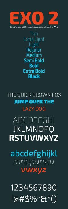 Exo 2 Free Font