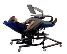 You Need To Work At A Computer But Canu0027t Because The Pain Is Too Much To  Take. ErgoQuestu0027s Line Of Zero Gravity Chairs And Zero Gravity Workstations  Let You ...