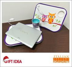 #GIFT #IDEA! #Tray #PC with #owls / #Vassio #porta #PC con #gufi - #Italian #Factory  #Original #price: 19.90€ #Outlet price: 9.90€ #Mallow #cup / #Tazza color #Malva - #ItalianFactory  Original price: 12.90€ Outlet price: 8.90€ #Available at Italian Factory - store number 26. http://www.palmanovaoutlet.it/it/outlet/negozi/italian-factory