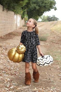 Knit Twirl Dress Tutorial - a must sew staple for her wardrobe!!