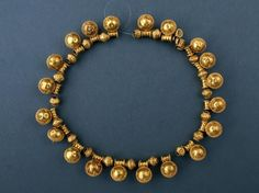 Necklace | [VI-V century BC] | Institute of Balkan Studies and Centre of Thracology | CC BY