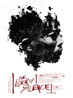 Jay Shaw's poster for Joshua Oppenheimer's The Look of Silence (2014).
