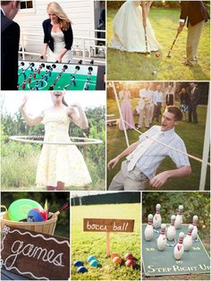 Some fun Wedding Games to keep your guest entertained during the photos
