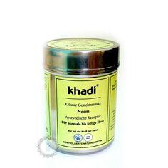 Khadi bylinná pleťová MASKA NEEM | Khadí, přírodní kosmetika z Indie