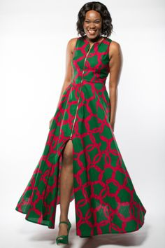 Shop Kuwala for the Maria Maxi dress (Green) by Gitas Portal