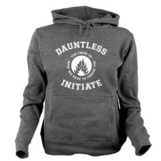 Divergent - Dauntless Initiate Hooded Sweatshirt
