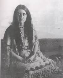 indian princess -creek indian inspiration for Transcending the Legacy: Book 4 in the Piercing the Fold series by Venessa Kimball