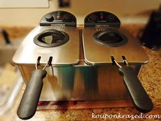 Brylane Home Double Deep Fryer giveaway ends 6/11 US only - Emptynester Reviews