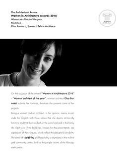 BFA | Women in Architeture Awards V edition #architecture #mountains #graphic #design #interior #contemporary #modern