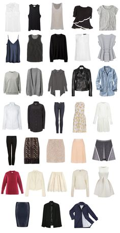 Project 333 – A Fall capsule wardrobe | Mademoiselle | Sydney-based fashion blog