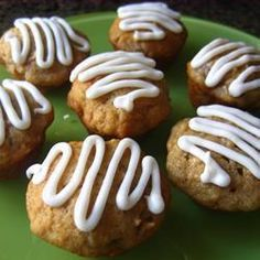 Cupcakes de manzana y plátano @ allrecipes.com.mx