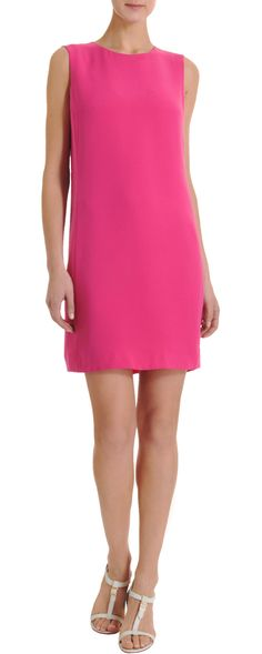 There is just something about a classic shift dress in this punchy pink. Vince Shift Dress