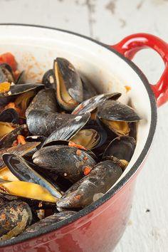 Italian mussels Taranto