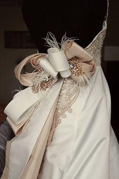 The Veluz Bride + Dress Detail
