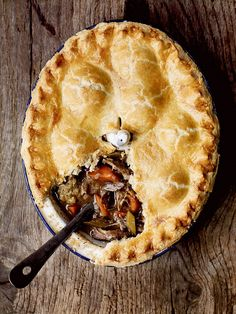 This game pie recipe may be a labour of love but its aroma and taste is worth the wait.