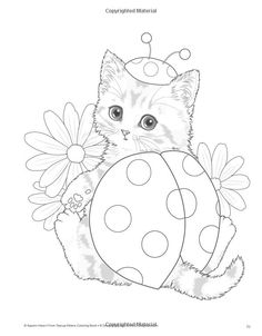 Teacup Kittens Coloring Book: Kayomi Harai: 9781497202269: Amazon.com: Books