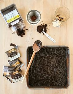 Pu-erh Chocolate Brownies | Thirsty For Tea