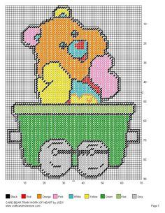 Care Bear Train Set 5