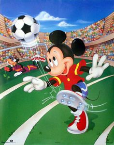 Mickey Mouse Soccer Posters at AllPosters.com