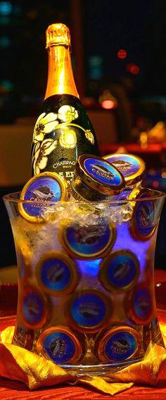 ~Caviar et Champagne   House of Beccaria