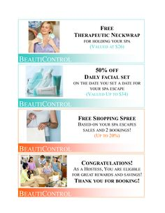 Book your beauticontrol spa party with me today!! It can be all online. www.beautipage.com/mackey
