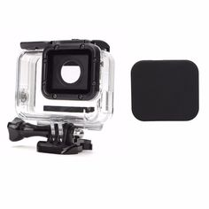 Shatter-resistant Housing Case Cove And Lens Cover For Gopro Hero 5 Black
