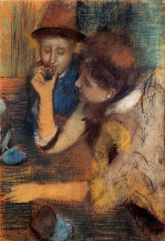 The Jewels, 1886, Glasgow Art Gallery and Museum Edgar Degas