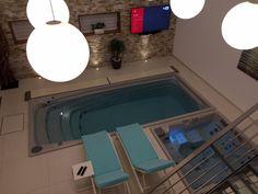 Privátní wellness s posilovnou Bathtub, Wellness, Bathroom, Bath Tube, Bath Tub, Bathrooms, Bathtubs, Bathing, Bath