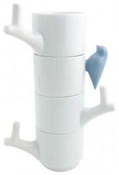 modern coffee cup holder tree - Google Search