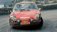 Vic Elford , Porsche 911. Monte Carlo 1967.