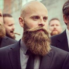 #bald and #bearded two things that go great together - #beardon #fashion #style…